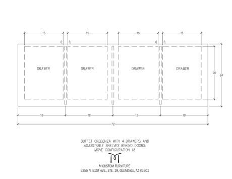 MOVE Buffet Credenza Configuration 18