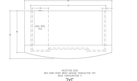 MOVE Reception Desk Wrap Around Configuration 11
