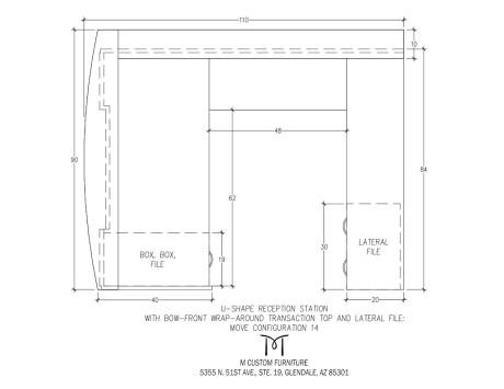 MOVE U-Shaped Reception Station Configuration 14