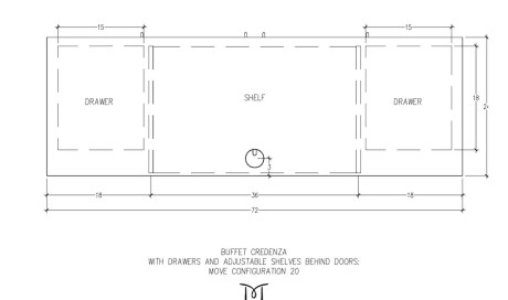 MOVE Buffet Credenza Configuration 20