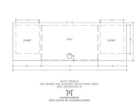 MOVE Buffet Credenza Configuration 20