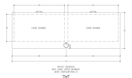 MOVE Buffet Credenza Configuration 21