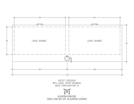MOVE Buffet Credenza Configuration 21